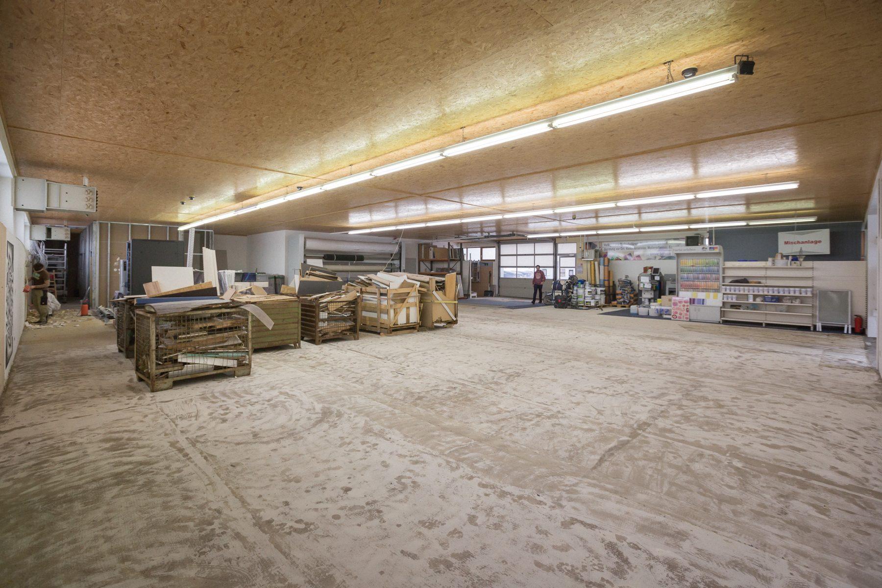 10708 Baufortschritt Werkstatt und Laden 170126 MG